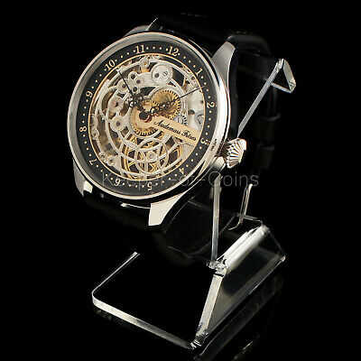Wonderful Audemars Freres Watch Men's Skeleton Engraved 16 Size Swiss Movement