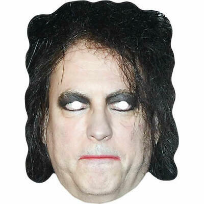 Robert Smith The Cure Celebrity Singer Card Mask - All Our Masks Are Pre-Cut