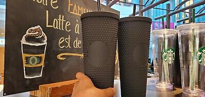 Fall 2019 Starbucks Matte Black Studded Tumbler Cup. Very Limited Edition. NEW!