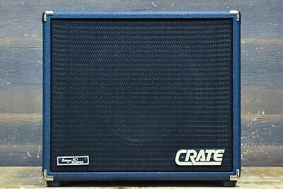 "Crate BV-112V Blue Voodoo Vintage 30 Equipped 60W 16-Ohm 1x12"" Guitar Cabinet"