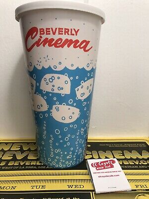 NEW BEVERLY CINEMA LARGE DRINK CUP Once Upon Time in Hollywood TARANTINO COYOTE