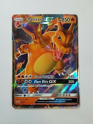 Charizard GX - SM211 Black Star Promo (Pokemon) Hidden Fates Ultra Rare
