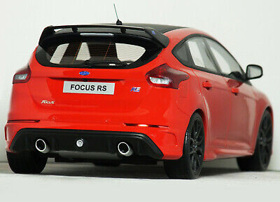 "1:18 OttO Mobile ""2017 MK3 FORD FOCUS RS"" (Race Red) LIMITED EDITION #OT802 Asia"