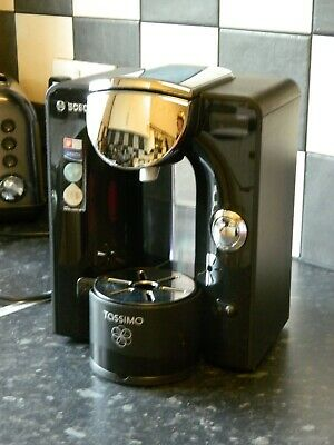 Bosch Tassimo Charmy TAS5542GB 1.4L Coffee Maker - Black