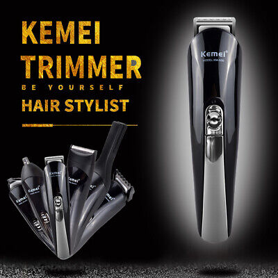 Trimmer Hair Clipper Electric Shaver Beard Mens Cordless Rechargeable Grommer