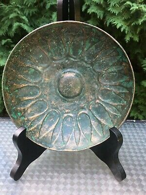 Authentic Luristan Near East Fluted Bronze Bowl #1 CHRISTIE'S EX-PISCOPO