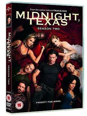 NEW and SEALED Midnight, Texas - Season 2 [DVD] [2019] Region 2. 2 disc set.