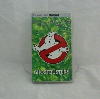 UMD Movie Ghostbusters Complete in Box