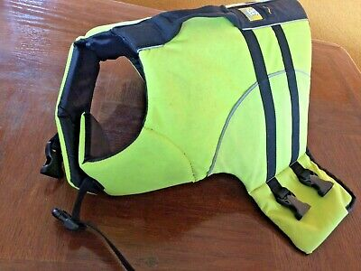 Ruffwear Float Coat Dog Life Jacket Safety Vest Reflective Preserver K-9 Gear M