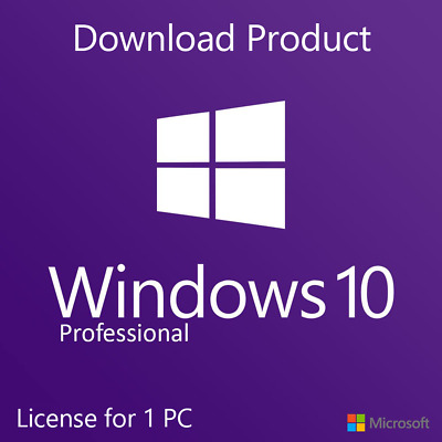 Nstant Windows 10 Professional Pro 32|64 Bit Genuine Activation Key License