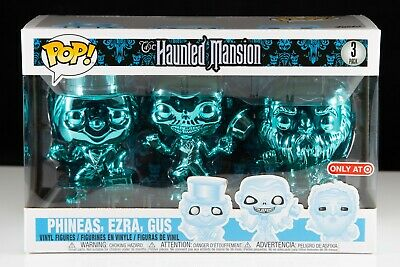 Funko Pop Disney's The Haunted Mansion Hitchhiking Ghosts 3 Pack #3 Target Excl.