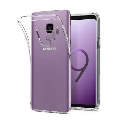 $ALE! *Spigen®LIQUID CRYSTAL for GALAXY S9 Slim & Soft TPU Protective Cover,