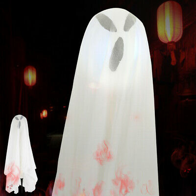 Halloween Decorations-Little Ghost Specter Colorful Glowing Patio Decor Props