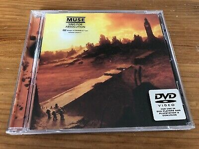 MUSE Sing for Absolution DVD 5 Track Jewelcase 2004 EW285DVD