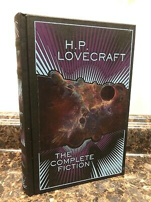 Antyki i Sztuka The Complete Fiction of H.P Lovecraft New Sealed Leather Bound Gift Hardback