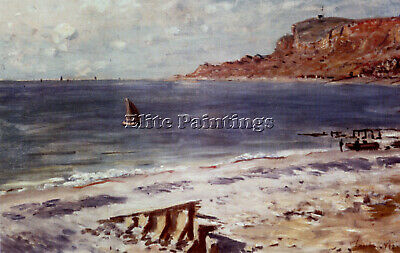 Regatta at Sainte-Adresse 1867 MON039 Monet Poster Art Print A4 A3 A2 A1