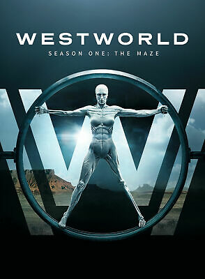 Westworld. Season 1. Series 1. Season One. 3 Disc Dvd Set. Region 2