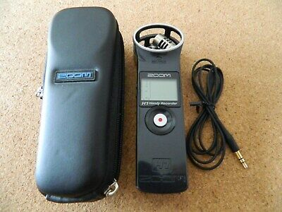 Portable Zoom H1 MP3/Wave Recorder