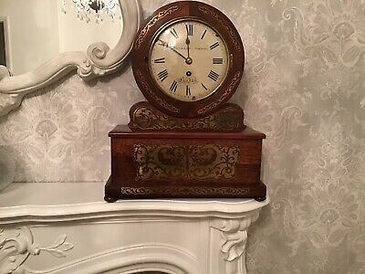 Antique Regency Rosewood Clock, William Dodd London .