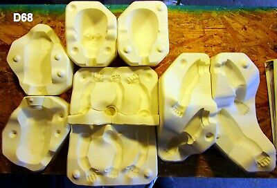 David male press mold for polymer clay by Patricia Rose
