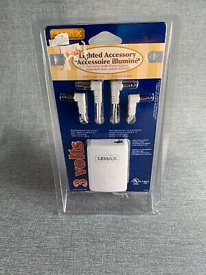 New Lemax Switching Mode Power Adaptor Lighted Accessory 3 Volt 4 Output Jacks