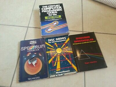 Bundle of 4 Programming Books for Sinclair ZX Spectrum in English