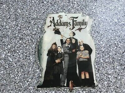 """THE ADDAMS FAMILY 7"""" picture disc record mc hammer addams groove 1991 NO SLEEVE"""