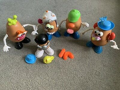 Rare Job Lot Mr Potato Head Bundle Toy Story Spare Potatoes Parts