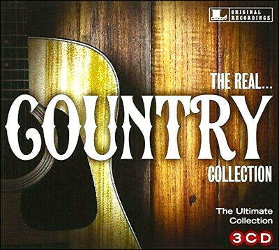 REAL COUNTRY COLLECTION * NEW 3-CD Set * 48 All Original CW Favorites