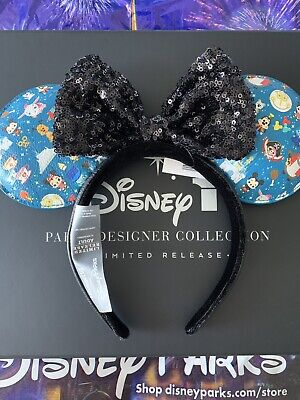 Disney Parks Limited Designer Collection Loungefly Minnie Mouse Ears Headband