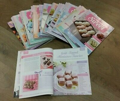 49 SOMETHING SWEET MAGAZINES by DEAGOSTINI ** FREE UK POST **