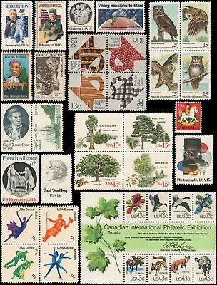 US #1731//1769 MNH 1978 commemorative year set of 36 stamps