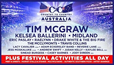 Country 2 Country Tickets