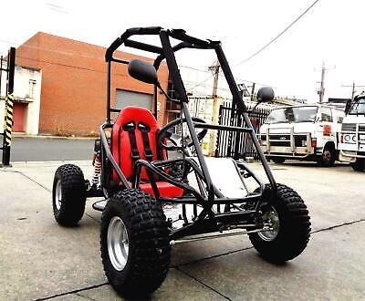 Kids Teen Go Kart Buggy Single Seat Rolling Chassis Frame