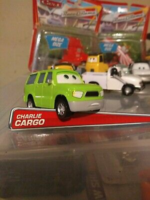 DISNEY CARS DIECAST Sarge/'s Boot Camp Deluxe 2017 Release Charlie Cargo