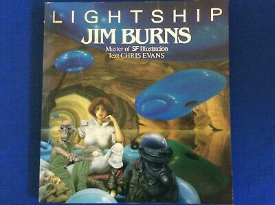 Lightship, Jim Burns, Paper Tiger Books - paperback  1994