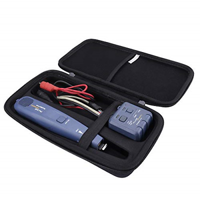 Hard Case for Fluke Networks Pro3000 Tone Generator and Noice Filtering Probe by