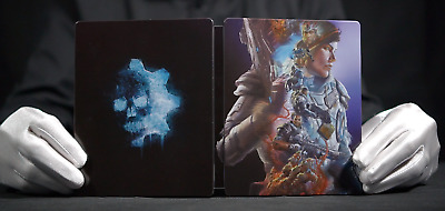 Official Gears 5 Merchandise Steelbook Case, Pin and More - *The Masked Man*