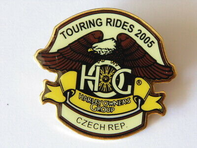 Harley-Davidson Pins Badge Collector  Hog Touring Rides 2005