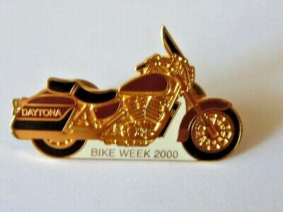 Harley-Davidson Pins Badge Collector Daytona Bike Week 2000