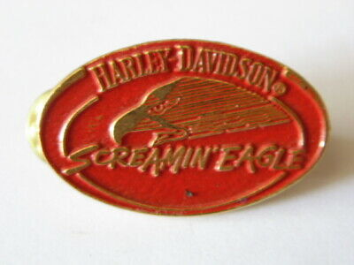 Harley-Davidson Hd Pins Badge Collector Screamin' Eagle