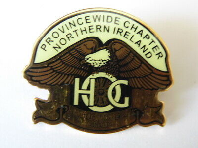 Harley Davidson Pins Badge Collector Hog Province Wide Chapter Northern Ireland
