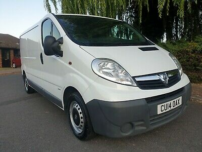 2014 Vauxhall Vivaro 2900KG 2.0 CDTi 115 LWB Van, 6-speed ** NOW SOLD **