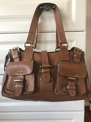 Genuine Mulberry Roxanne Hand Shoulder Bag Oak Darwin