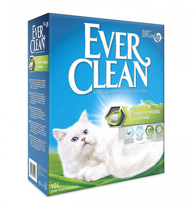 Ever Clean Extra Strong Clumping Cat Litter, 10 Litre, Scented 10 Litre