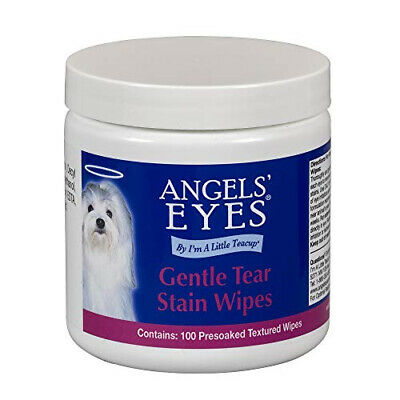 Angels Eyes Gentle Tear 100 Presoaked Textured Stain Wipes 100 ct