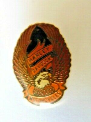 Harley Davidson Pins Badge Collector Official 1984