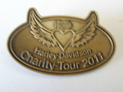 Harley Davidson Pins Badge Collector Hd Charity Tour 2011