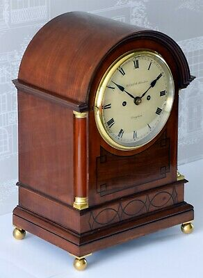 GILLETT & JOHNSTON Musical Whittington FUSEE Bracket Clock 9 Gongs Elliott