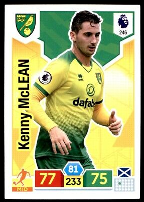 Panini Premier League Adrenalyn XL 2019/20 - Kenny McLean Norwich City No. 246